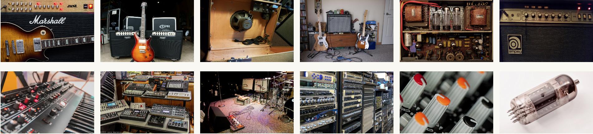 Servicio técnico en electrónica - Amplificadores valvulares, híbridos y transistorizados - Atención integral al músico