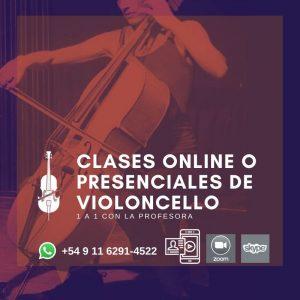 Clases de Violoncello - De Josefina García - Barrio de Colegiales, Ciudad de Buenos Aires, presenciales y Online