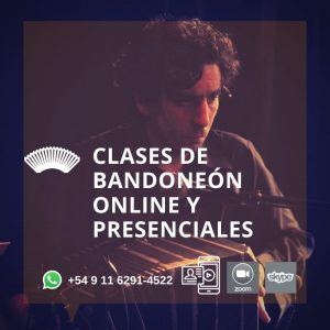 Clases de Bandoneón Online o presencial en Colegiales, Caballito (Buenos Aires)