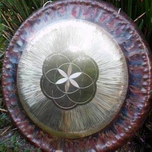 Gong Sinfónico de 72 cm (28″) artesanal – Para yoga, meditación, terapéutico o relajación profunda