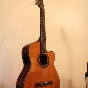 Guitarra Electroacústica Marca Santana, Modelo CG-66 ceq-06