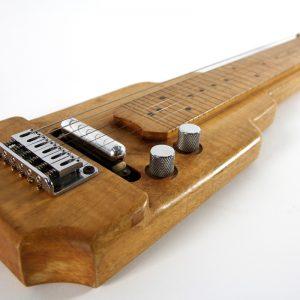 """Lap Steel Guitar estilo """"Art Decó"""" de 6 cuerdas"""