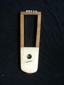 Lira Contemporanea de 5 cuerdas de Luthier