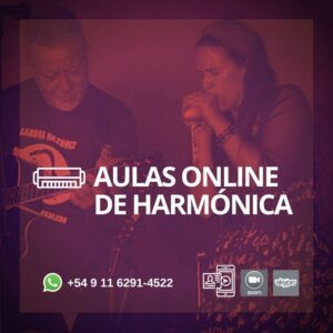 AULAS DE HARMONICA ONLINE SANDRA VAZQUEZ
