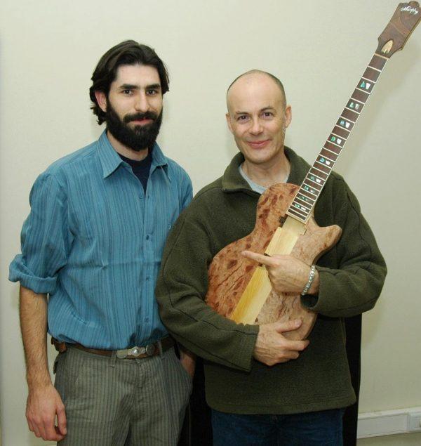 MArcos Murphy Luthier y Juan Antonio Ferreyra