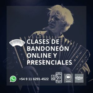 Clases de Bandoneón Online y Presenciales