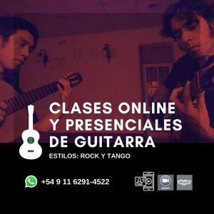CLASES DE GUITARRA - MIGUEL LOPEZ