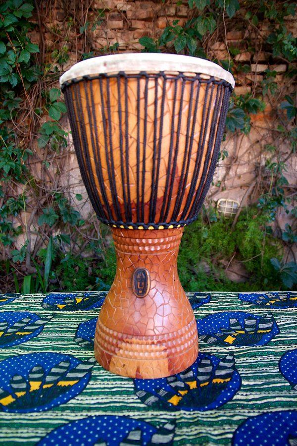 Djembe Grande Profesional (nuevo) - Modelo Saba (Estilo Burkina) - Tambor Africano