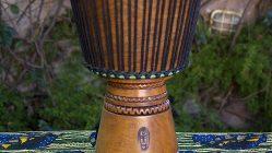 Djembe Grande Profesional (Nuevo) - Modelo Koloni (Estilo Guinea) - Tambor Africano