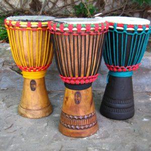 Djembe Pequeño Nuevo - De Viaje - Tambor Africano