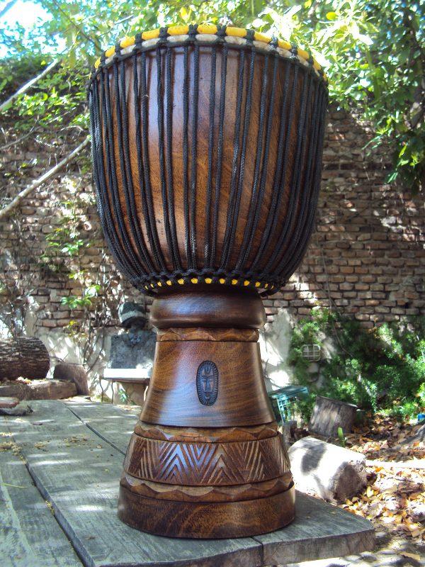 Djembe Grande Profesional (Nuevo) - Modelo Wara (Estilo Mali) - Tambor Africano