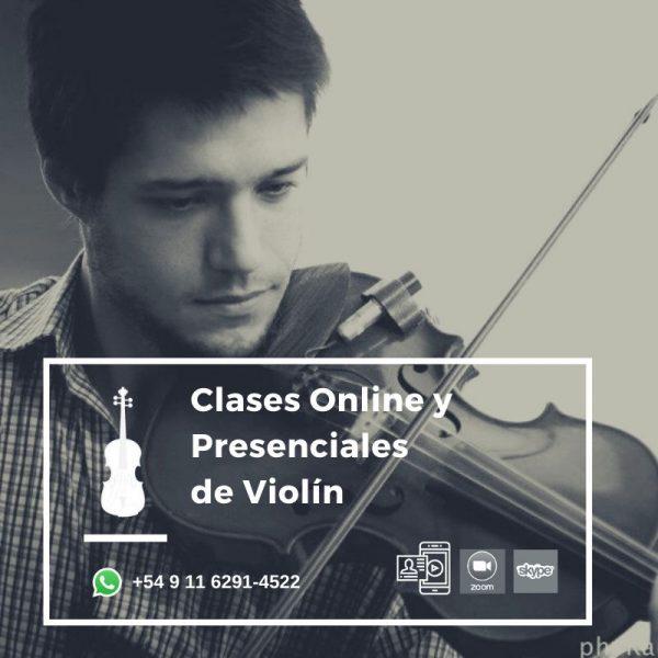 Clases Online o Presenciales de Violín