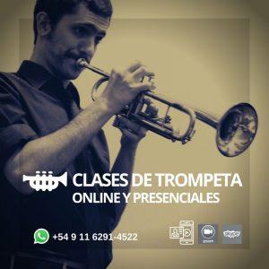 CLASES DE TROMPETA ONLINE Y PRESENCIALES