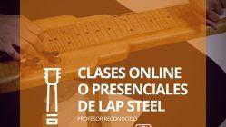 Clases Online y Presenciales de Lap Steel