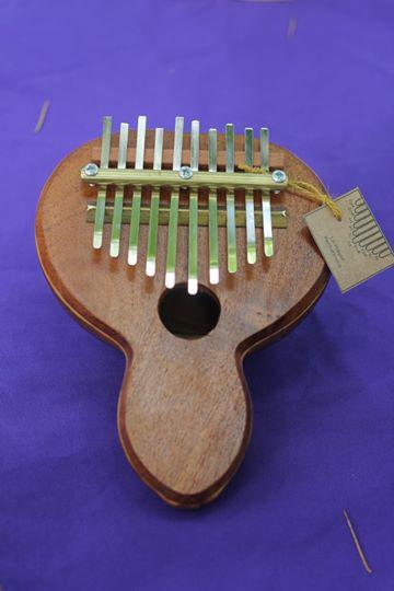 Kalimba de calabaza de 10 notas