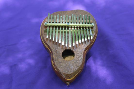 Kalimba de calabaza de 15 notas
