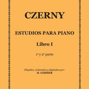 Estudios Para Piano – Libro 1-TAPA