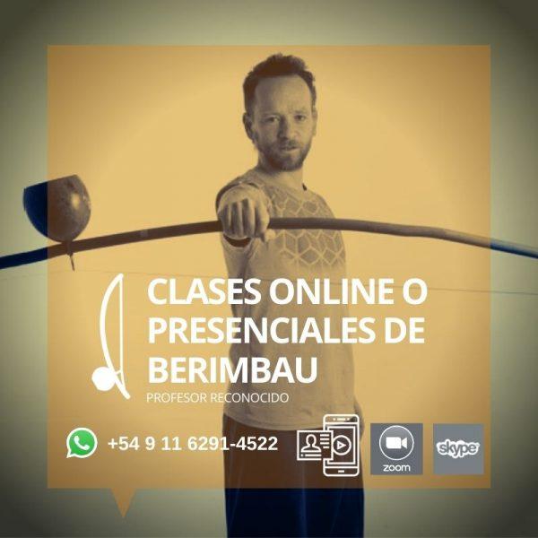 Clases online y presenciales de Berimbau