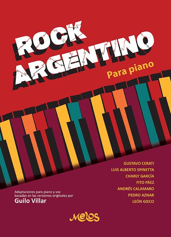 rock argentino para piano - tapa