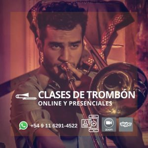 Clases Online y Presenciales de Trombón