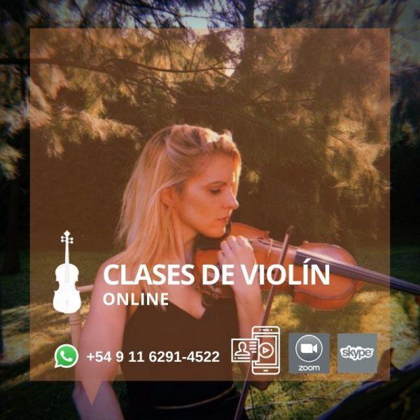 Clases de Violín Online