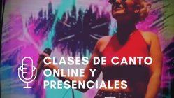 Clases de canto personalizadas online y presenciales