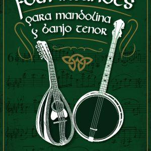 Tapa del Libro Folk Irlandés para Mandolina y Banjo tenor