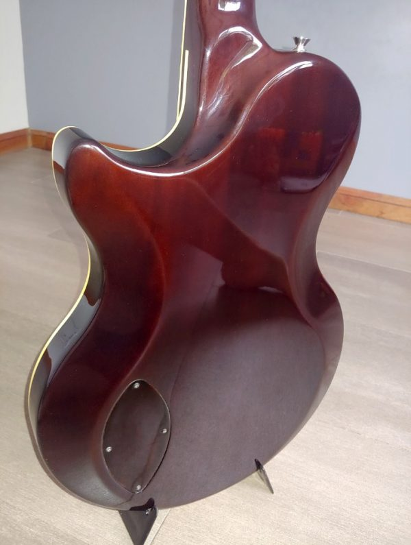 Guitarra Eléctrica Vox Virage Sc (Made In Fujigen/Hoshino-Gakki, Japan) Tobacco Burst - Usada como nueva!