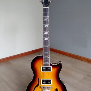 Guitarra Eléctrica Vox Virage Sc (Made In Fujigen/Hoshino-Gakki, Japan) Tobacco Burst - Usada como nueva!