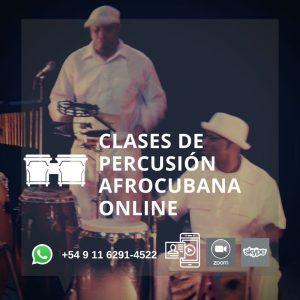 Clases Online y Presenciales de Percusión y Folclore Afrocubano