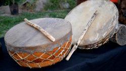 Kultrún Mapuche, Tambor Sagrado de construcción tradicional - Cultrún, Cultrum, Kultrum, Kultrung