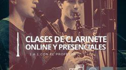 Clases de Clarinete y Teoría Musical, modalidad Online y Presenciales