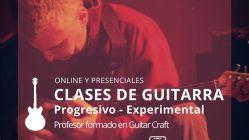 CLASES DE GUITARRA EXERIMENTAL PROGRESIVO