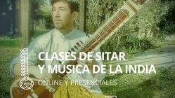 Clases de Sitar y Música de la India, modalidad Online y Presenciales