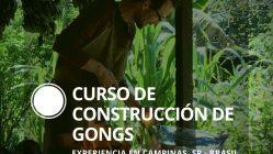 Curso de Construcción de Gongs, experiencia en Campinas, San Pablo, Brasil